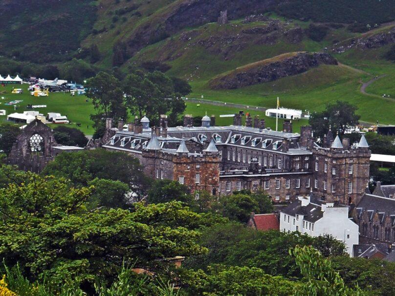 Holyrood Palace (Edimburgo, Reino Unido)