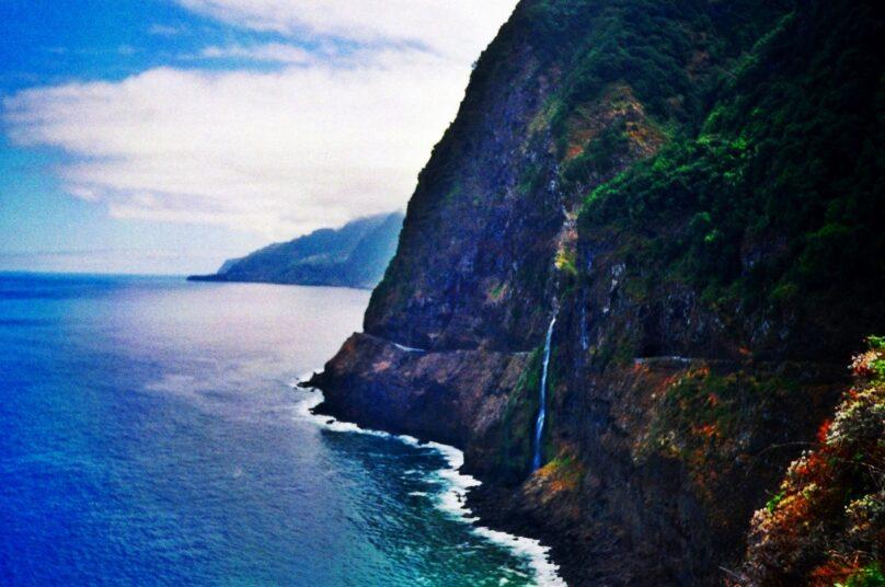 Cascada Velo de Novia (Región Autónoma de Madeira, Portugal)