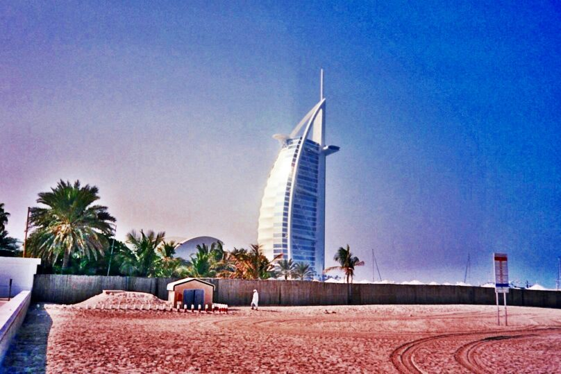 Burj al-Arab (Dubai, Emiratos Árabes Unidos)