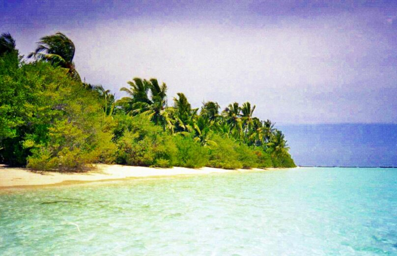 Playa de Vihamanaafushi (Distrito de Kaafu, Maldivas)