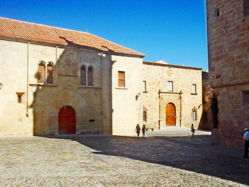 Plaza de Santa María (Cáceres, Extremadura)