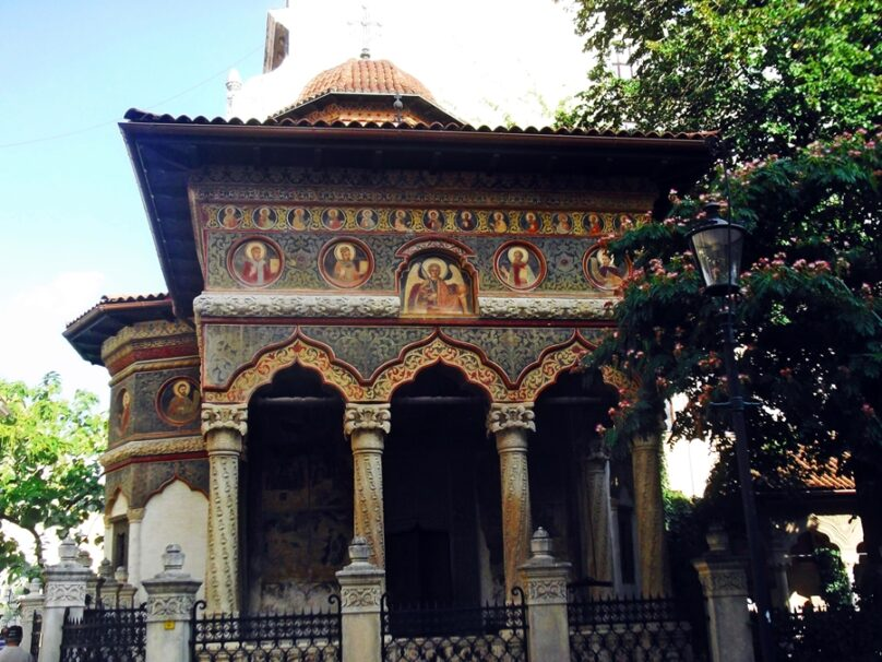 Iglesia Stavropoleos (Bucarest, Rumanía)