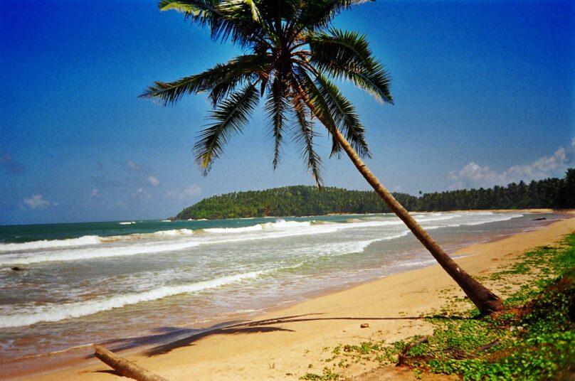 Playa de Weligama (Distrito de Matara, Sri Lanka)