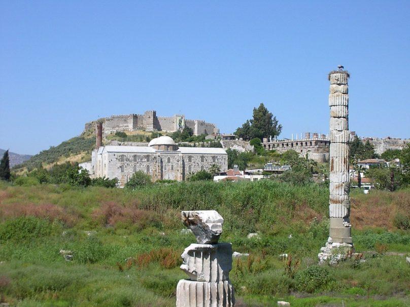 Templo de Artemisa en Éfeso (Provincia de Izmir, Turquía)