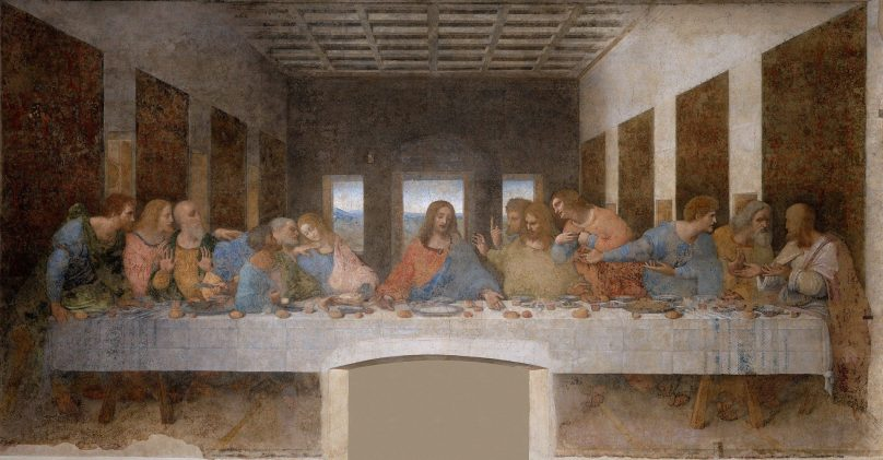 <em>La última cena</em> (Milán, Italia)