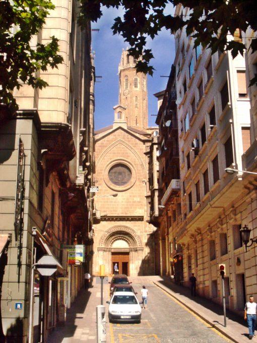Centro histórico (Lérida, Cataluña)