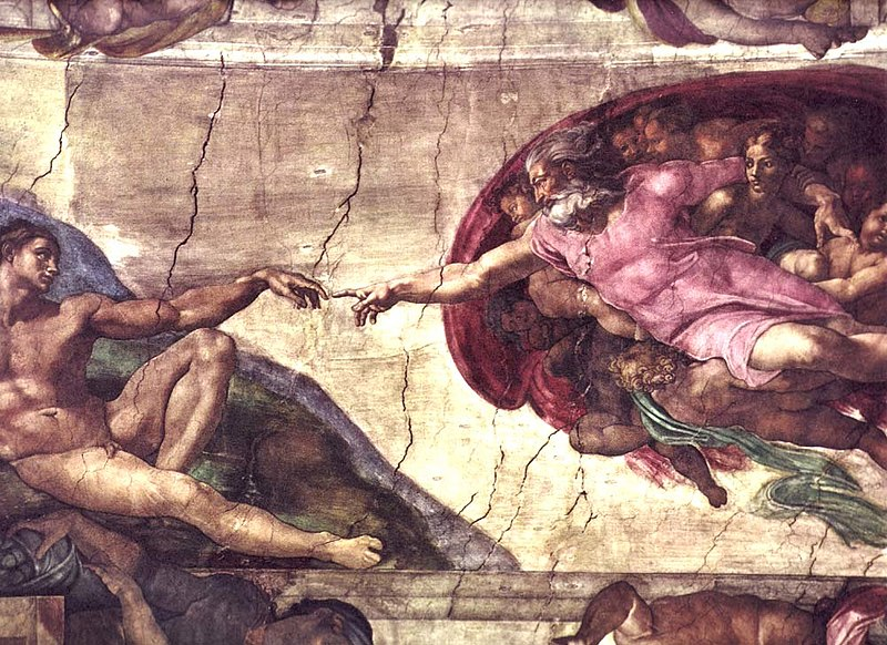 <em>La creación de Adán</em> (Ciudad del Vaticano, Ciudad del Vaticano)